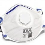 Dust Mist Respirator w/valve-12pk